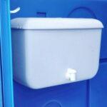 Туалетная кабина Комфорт на дачу 006