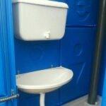 Туалетная кабина Комфорт на дачу 009