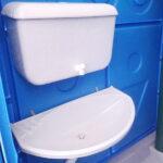 Туалетная кабина Комфорт на дачу 012