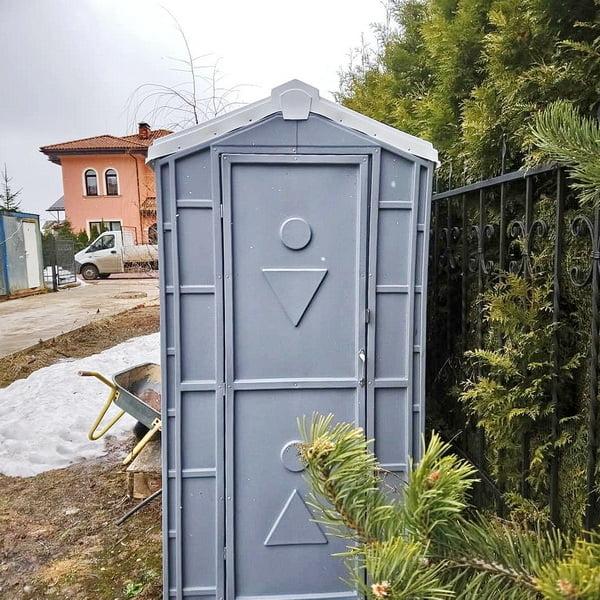 Туалетная кабина Комфорт на дачу 014