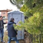 Туалетная кабина Комфорт на дачу 015