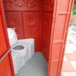 Туалетная кабина Комфорт на дачу 018